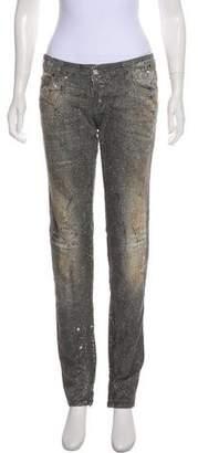 DSQUARED2 Embellished Skinny Jeans