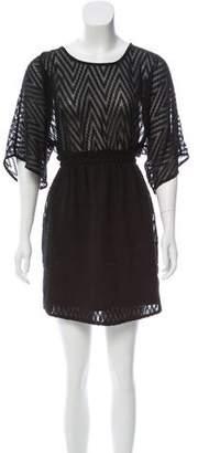 IRO Dolman Sleeve Mini Dress