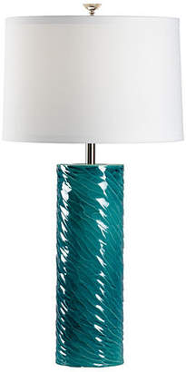 Chelsea House Bevin Porcelain Table Lamp - Teal
