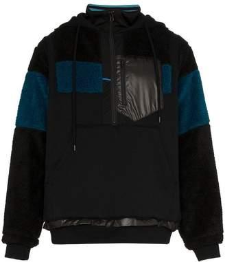 Facetasm fleece hooded jacket