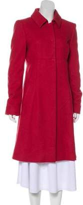Philosophy di Alberta Ferretti Knee-Length Wool Coat
