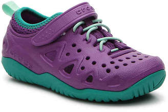 Crocs Swiftwater Toddler & Youth Sneaker - Girl's
