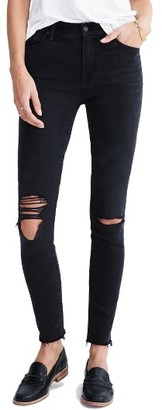 Women's Madewell 9-Inch High-Rise Skinny Jeans $128 thestylecure.com