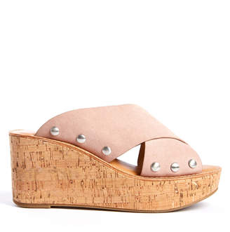 Chinese Laundry Ohau Skip On Cork Wedge