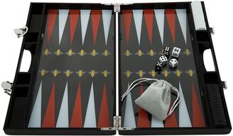 Casacarta casacarta - Lacquered Backgammon Set - Red/White Bee