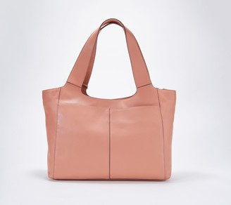 bf47a9639eaf Vince Camuto Leather and Suede Tote - Cory