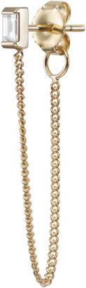 Selin Kent Gaia Chain Baguette Earring