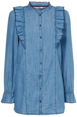 Tu clothing Mid Denim Blue Denim Fill Tunic