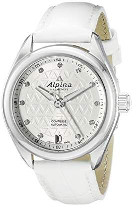 Alpina Women's AL-525STD2C6 Comtesse Analog Display Automatic Self Wind White Watch