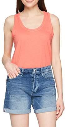Esprit Women's 048ee1k051 Vest, (Coral Orange 3 872), X-Small