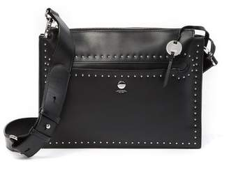 Lodis Pismo Studded RFOD Dallia Accordion Leather Crossbody