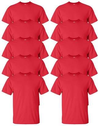 Gildan Mens Ultra Cotton 6 oz. T-Shirt(G200)-2XL-10PK