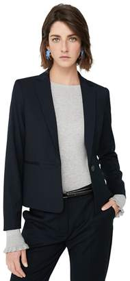 at Debenhams MANGO Navy 'Boreal' Suit Blazer