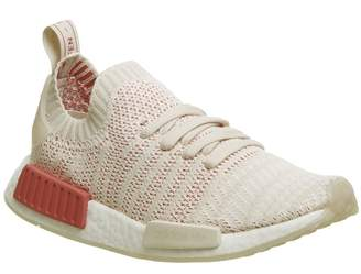 adidas Nmd R1 Prime Knit Trainers Linen Crystal White