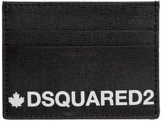 DSQUARED2 Black Credit Card Holder