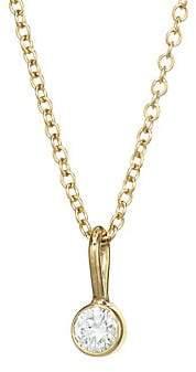Chicco Zoe Women's 14K Yellow Gold & Diamond Chain Pendant Necklace