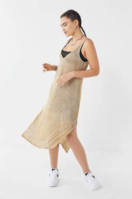 Show Me Your Mumu Harlyn Sparkly Mesh Slip Dress