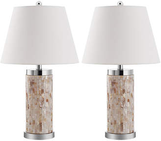 Safavieh Diana Set Of 2 24.5In Table Lamps