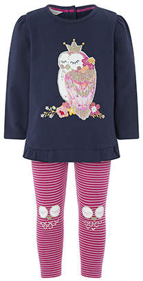 Monsoon Baby Polly Owl Sweat Set