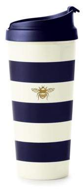 Kate Spade Navy Stripe Thermal Mug