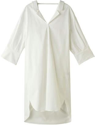 Miharayasuhiro ミハラ ヤスヒロ バックネックシャツドレス