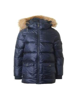Pyrenex Authentic Jacket With Fur Trimmed Hood