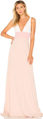 Jill Stuart JILL Jill by Two Tone Gown