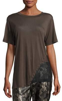 Koral Activewear Atomic Jersey & Mesh Athletic Tunic