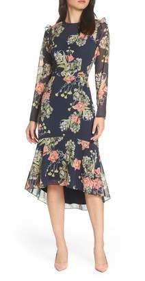 Chelsea28 Floral Ruffle Dress