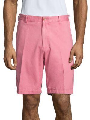 Peter Millar Crown Winston Pima Cotton Shorts $85 thestylecure.com