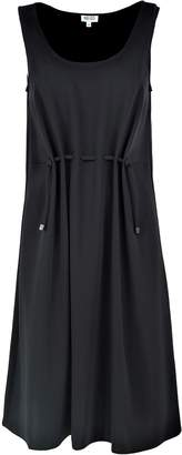 Kenzo Cinched Crepe Dress