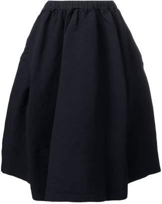 Comme des Garcons pleated midi skirt