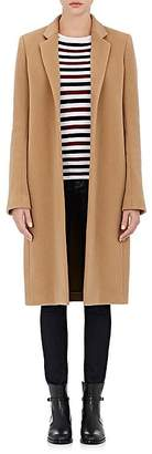 Barneys New York Women's Wool-Cashmere Melton Car Coat