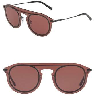 Dolce & Gabbana 48mm Round Sunglasses