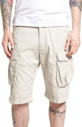 Men's G-Star Raw Rovic Loose Cargo Shorts $130 thestylecure.com