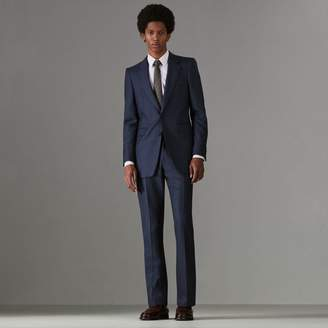 Burberry Slim Fit Puppytooth Wool Suit