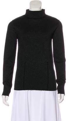 Dagmar Metallic Long Sleeve Sweater