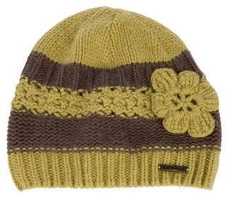 Jean Bourget Girls' Knit Crochet Beanie w/ Tags