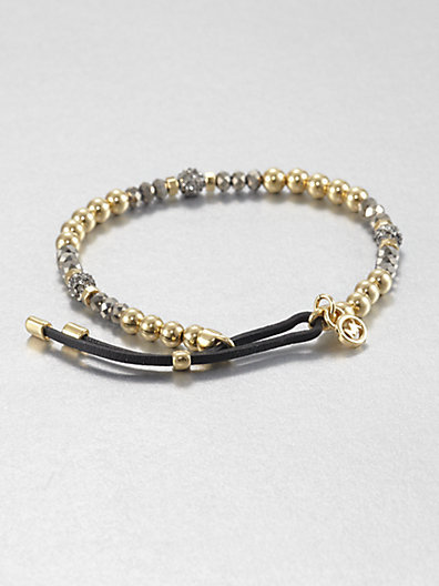 Michael Kors Fireball Bead Bracelet/Two-Tone