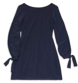 Un Deux Trois Girl's Long Sleeve Knit Dress