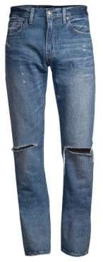 Levi's Made& Crafted 511 Slim Ripped Jeans
