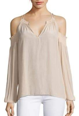 Ramy Brook Heidi Cold-Shoulder Top