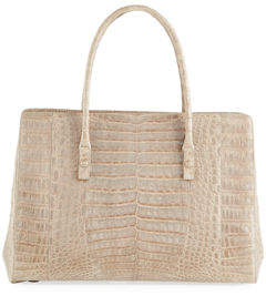 Nancy Gonzalez Signature Crocodile Top-Handle Satchel Bag
