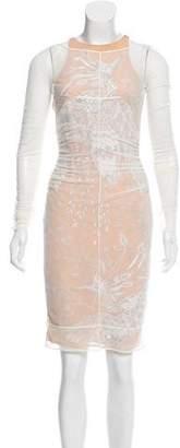 Emilio Pucci Embellished Mesh Dress w/ Tags