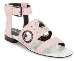 Calvin Klein Amanda Leather Sandals