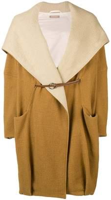 Nehera oversized hooded coat