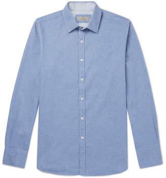 Canali Brushed-Cotton Shirt