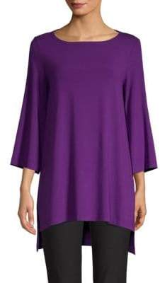 Eileen Fisher Boatneck Tunic Top