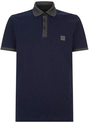 BOSS ORANGE Contrast Collar Polo Shirt