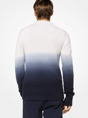 Michael Kors Dip-Dyed Cashmere Pullover
